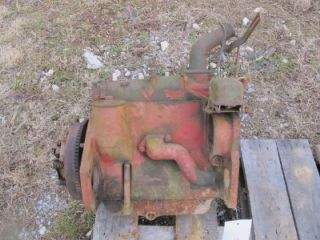 IH Farmall Cub Tractor Engine  2598