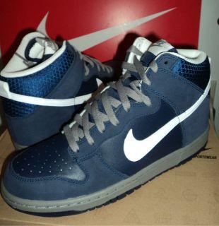 Dunk High Retro Basketball Shoes Mens Navy 317982 401 Classic