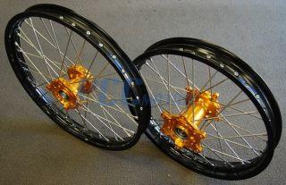 RMZ450 RMZ250 RM RMZ 450 250 Rim Rims CNC Hub Wheel Wheels Set