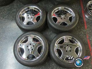 S420 S55 S600 CL500 CL600 Factory AMG 18 Chrome Wheels Tires OEM Rims