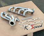 STAINLESS STEEL EXHAUST HEADER CHEVY SILVERADO 1500 PICK UP TRUCK 4.8
