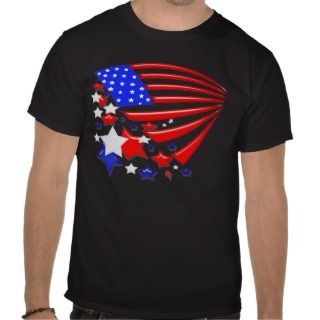 Star Spangled Banner America Flag t shirt