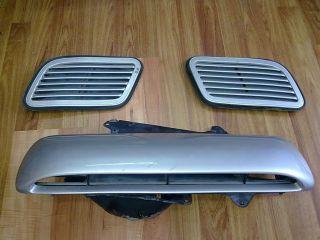 JDM Subaru Impreza WRX STI GC8 GF8 Hood Vent Scoop Set
