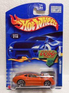 Hot Wheels 2002 214 Overboard 454 Tangerine w PR5s Mint on Card