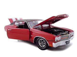 1970 Chevrolet Chevelle SS 454 Red 1 24 Diecast Model
