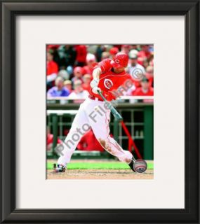 Joey Votto 2010 Framed Photographic Print