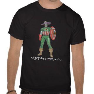 captain mexico, CAPTAIN MEXICO Shirts