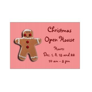 Gingerbread Man Cookie Yard Signs