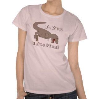 Rex Hates Burpees T Shirts
