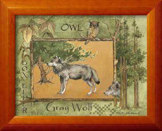 Gray Wolf Pre made Frame