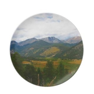 Rocky Mountain National Park Plate