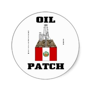 Peru Oil Patch,Oil Field Decal,Oil,Gas,Gifts,Rig Stickers