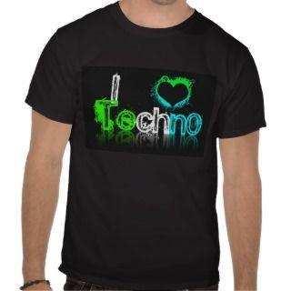 love Techno Shirt