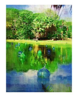 Everglades palm tree   Tropical Collection   Palms & Landscape , Miami , FLorida Giclee Print by Palm Images