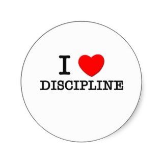 Love Discipline Stickers