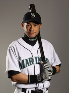 Seattle Mariners Photo Day, PEORIA, AZ   FEBRUARY 20: Ichiro Suzuki Photographic Print by Ezra Shaw