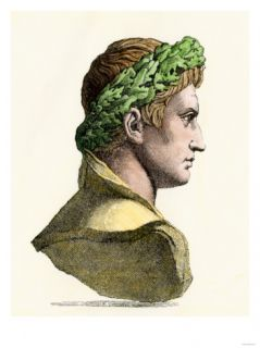 Caesar Augustus, First Roman Emperor Giclee Print