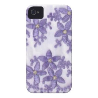 Embroided rhinestone flowers iPhone4 Case iPhone 4 Cases