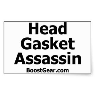 Head Gasket Assassin Sticker by BoostGear