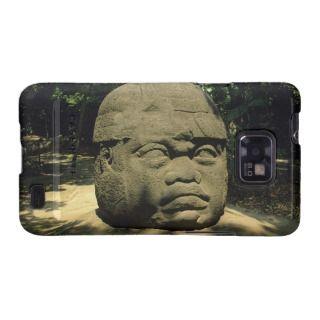 Mexico, Villahermosa, giant Olmec head, La Venta Samsung Galaxy S