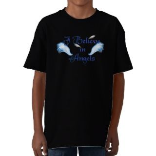 Believe In Angels Top Tee Shirt