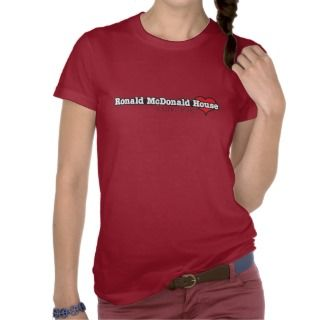 Ronald McDonald Heart T Shirts