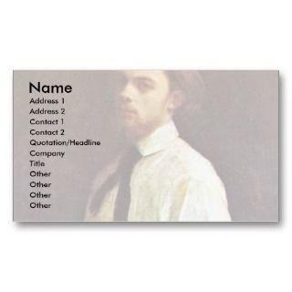 Self Portrait By Fantin Latour Henri Business Cards