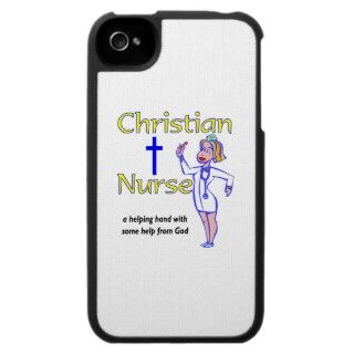 Christian Nurse religious gift iPhone 4 Cases