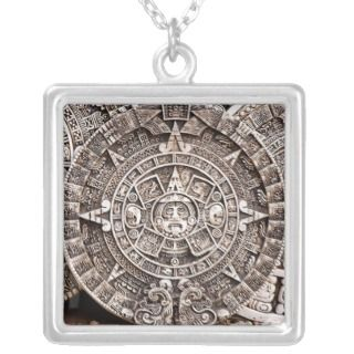 Mayan Calendar Necklace