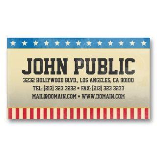 Vintage America Business Card