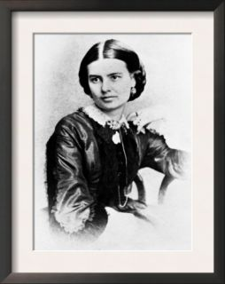 First Lady Ellen Herndon Arthur, Wife of President Chester A. Arthur, 1860s Pre made Frame