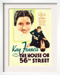 The House on 56th Street, 1933 Pre made Frame