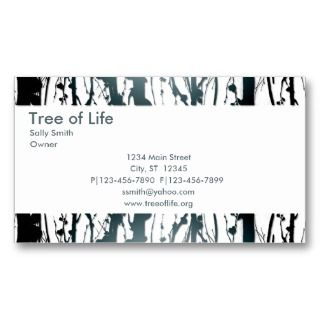Double sided, elegant business card appropriate for many different