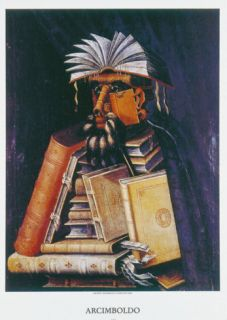 The Librarian Print by Giuseppe Arcimboldo