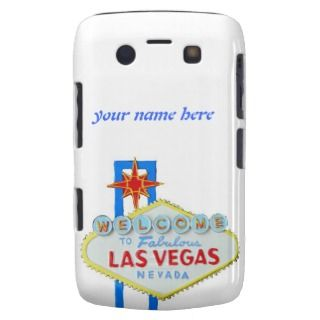 Las Vegas Gambler Welcome Sign Blackberry Bold Covers