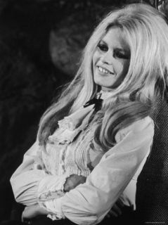 Brigitte Bardot During Filming of Shalako Premium Photographic Print by Bill Ray