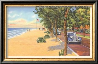 Beach, St. Joseph, Michigan Pre made Frame