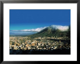 Table Mountain, Capetown, South Africa Pre made Frame