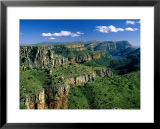 Drakensberg Mountains, Blyde River Canyon, Natal, South Africa Pre made Frame