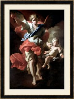 Guardian Angel, circa 1685 94 Framed Giclee Print