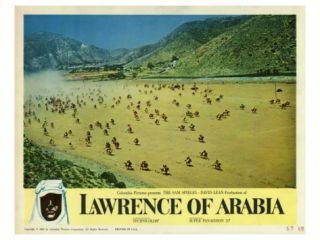 Lawrence of Arabia, 1963 Giclee Print