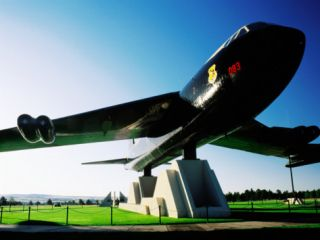 B 52 Monument, Air Force Academy, Colorado Springs, U.S.A. Photographic Print by Levesque Kevin