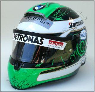 Nick Heidfeld 2009. BMW Sauber F1 Schuberth RF1 Replica Helmet Scale 1