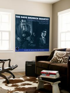 Dave Brubeck Quartet   Featuring Paul Desmond in Concert Wall Mural