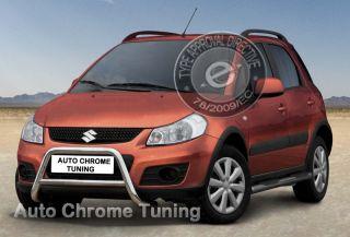 Frontschutzbügel für Suzuki SX4 ab 2010   V²A poliert  EC