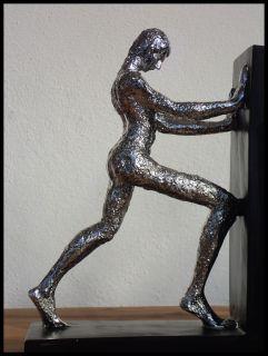 BUCHSTÜTZEN 2 er Set Modern Art Skulpturen M 14/24 *NEU*