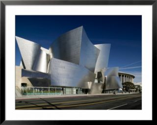 Walt Disney Concert Hall, Los Angeles, California, USA Pre made Frame
