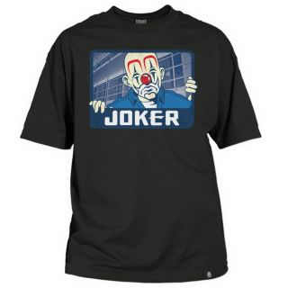 Joker Brand x Prison Tee   T Shirt   Schwarz / Neu / SHK