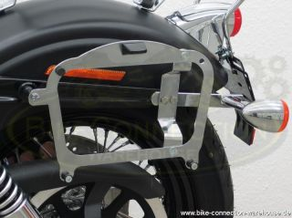Chrom mit Gepäckträger Harley Street Bob Typ FXDB 2006 2013