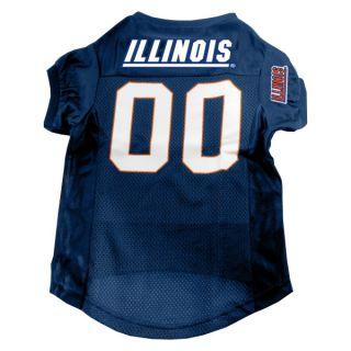 Illinois Fighting Illini Premium Pet Football Jersey   Jerseys   NCAA